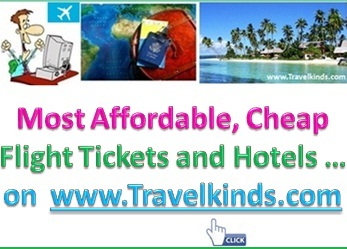 Most Affordable, Cheap Flight Tickets, Hotels, New Travel Deals ... on www.Travelkinds.com